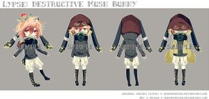 [CLOSED] Lypse: Destructive Mush Bunny by Serendipiter