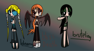 Muy Ppg Oc The Death Spell Girls The Un Death  by ladynasweet