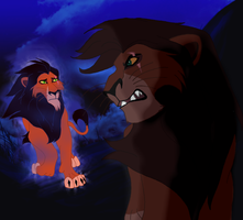 Kovu's past by Mayshha