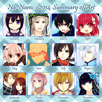 2014 Art Summary by Na-Nami