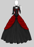 Outfit Adoptable 01 -CLOSED- by UnstoppableQueen