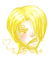 Sanji Speed Paint by Snuckledrops