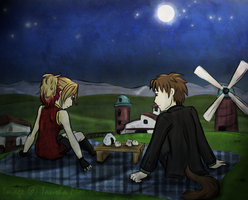 HM: Moon Viewing Festival by ToshieChan