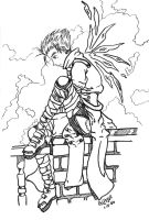 Lonesome Dove Uncolored by MillyT