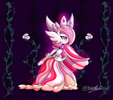 |Gardevoir/Slowking Fusion!| THE QUEEEN by frostlie