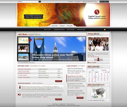 AAS Intranet by atcreation