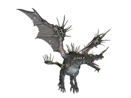 Dragon 09 PNG Stock by Roys-Art
