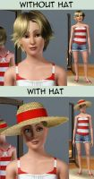 Cecina - The Sims 3 by P-ChanAndP-Kun