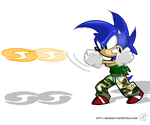 Sonic's Boom by geogant