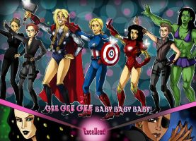Avengers - Gee by LadyDeadPooly