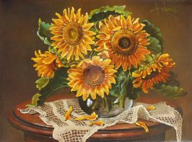 Sunflowers by dusanvukovic