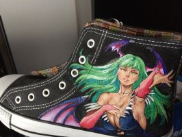 Darkstalkers sneakers 01 by JanosAstarte