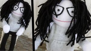 Jeff the Killer Plushie by greenchylde