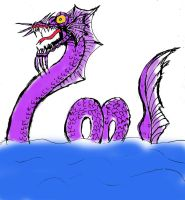 Day 28 Monster from the Sea by Buddhadragon