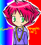 Kumatora on Flash xD by Squiggles-8D