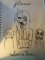 Please, Save Them...(WIP) by Pastel-Horrors