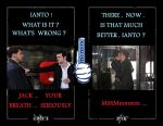 Jack and Ianto : Mentos by AVRICCI