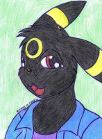 Anthro Umbreon by jancy15