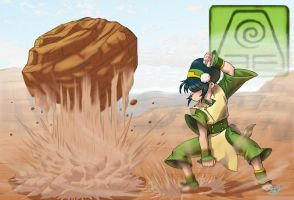 Toph by ArtistAbe