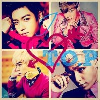 I LOVE T.O.P - Collage by KateW49