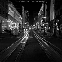 Tram Lines II by Val-Faustino