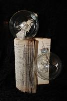 Set of 2 1892 Hymnal Angel Ornaments by wetcanvas