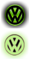 green volkswagen start orb by jeffrockr