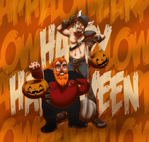 HoneyXephoween by TSoutherland