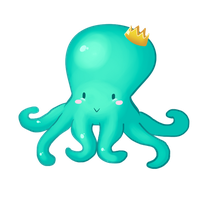 TealOctupus by SwiphtFox