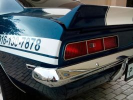 Camaro SS 396 in Moscow by overmoder
