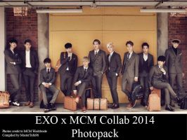 EXO x MCM Collab 2014 Photopack by MasterTofu96