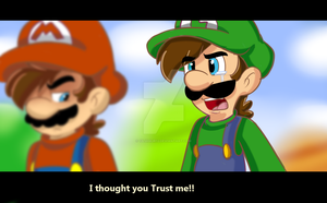 Mario and Luigi Screen Shot by 12Luigijr12