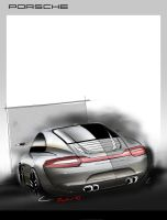 Porsche Sketch by Seko91