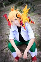 Shaman King Flower - Hana Asakura by kerubear