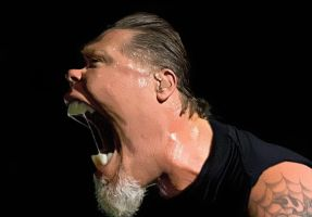 James Hetfield of Metallica He by RodneyPike