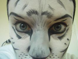 White Tiger Makeup 3 by nelphaba