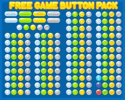 Free Casual Game Button Pack by pzUH