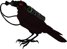 biohazard crow by mechanicalmasochist