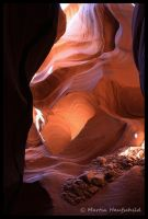 Antelope Canyon 3 by Haufschild