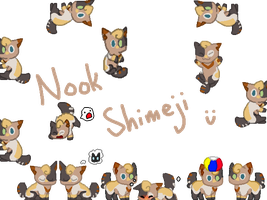 Nook- Shimeji by ConniCloudie