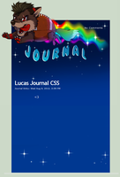New Journal CSS For lucas by VengefulSpirits