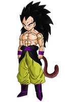 Dragonball Hero Berserker by DBZArtist94