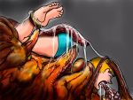 Vore horror 3432 by MOLD666