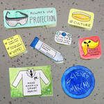 Science March Stickers! by ColaChu