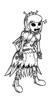 Adventure Time - Skeleton Princess by NewEraOutlaw