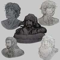 sketchbook: the hobbit by AerinTook