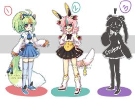 Auction 3 CLOSED by Erickiwi-adopts