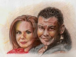 Lister + Kochanski- Red Dwarf by Bollyvox