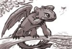 A younger dragon (Toothless) by Phatom-Caster