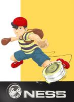 Ness by Dericules